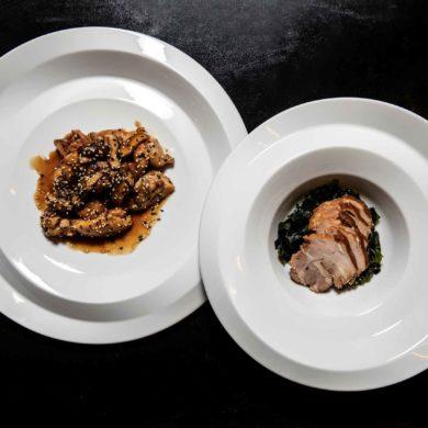 Ookii nami osara - hlavní jídla