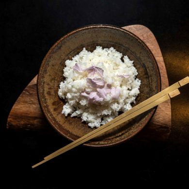 rýže, polévky a naložená zelenina