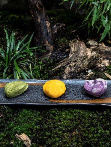 wagashi cukroví japonské sweets japanese